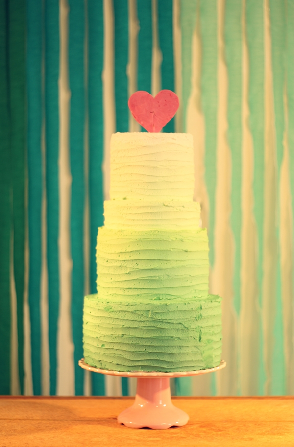ombre-green-buttercream-wedding-cake-by-The-Sugared-Saffron-Cake-Company-London
